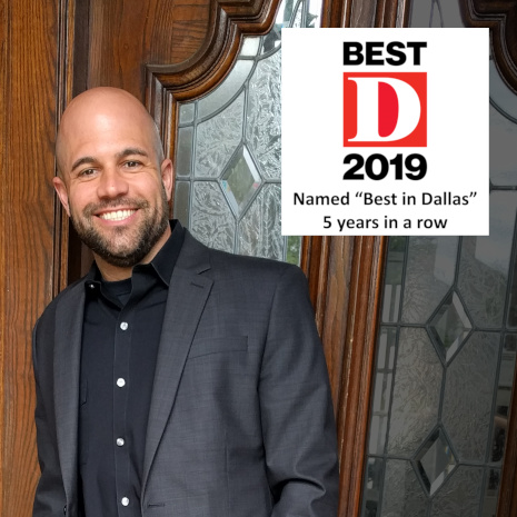 Dr. Jason Roe, best in Dallas 5 years in a row